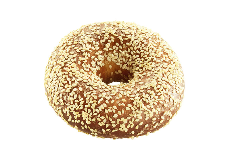 Pretzel-Bagel with sesame cover, 85 g