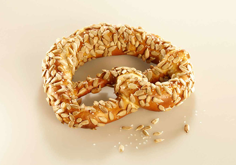 Pretzel With Sunflower Seeds & Salt